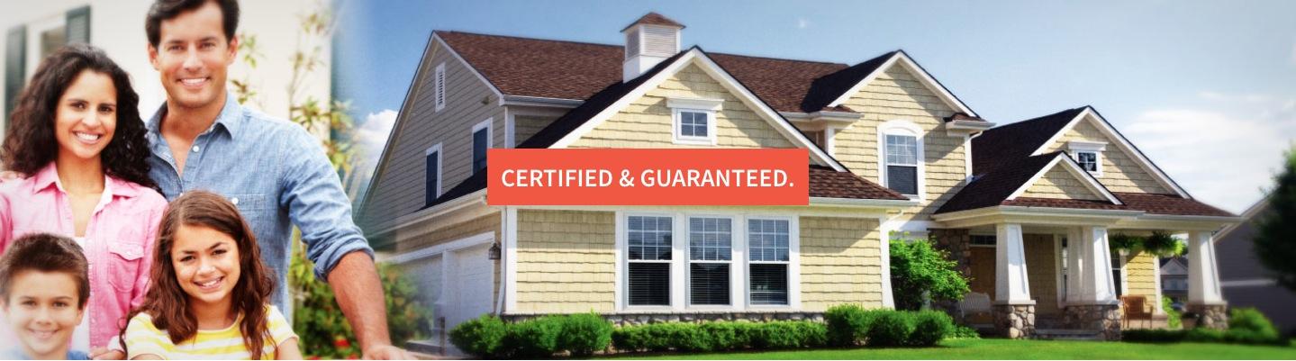 Certified & Guaranteed